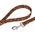 Gingerbread Deluxe Dog Collar & Leash - Leash View