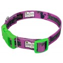 Just Witchy Things Deluxe Dog Collar & Leash - Secondary Angle
