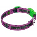 Just Witchy Things Deluxe Dog Collar & Leash - Third Angle