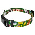 High Roller Deluxe Dog Collar & Leash - Secondary Angle