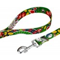 High Roller Deluxe Dog Collar & Leash - Leash View