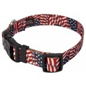 Country Brook Design® Patriotic Tribute Deluxe Collar & Leash - Secondary Angle