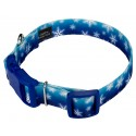 Winter Wonderland Deluxe Dog Collar & Leash - Secondary Angle