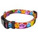 Red Valentine's Candy Deluxe Dog Collar & Leash - Secondary View