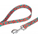 Tropical Tango Deluxe Dog Collar & Leash - Leash View