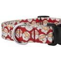 Where's Merry Deluxe Dog Collar & Leash - Closeup