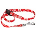 Red Hawaiian Choker Style Grooming Loop - Secondary View