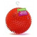 Gnawsome™ Extra Large Squeak and Light Dog Toy - Red