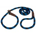 Lone Wolf Pacific Blue Twist Braided Rope Slip Lead, 6ft x 1/2in