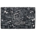 Black Good Dog Pet Place Mats
