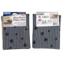 Grey Paw Stripe Pet Place Mats (Secondary)