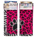 Pink Leopard/Zebra Pet Place Mats (Secondary)