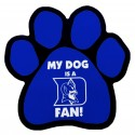 My Dog is an Duke Fan! Paw Magnet