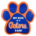 My Dog is an Florida Fan! Paw Magnet