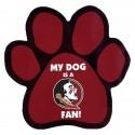 My Dog is an FSU Fan! Paw Magnet