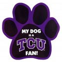 My Dog is an TCU Fan! Paw Magnet