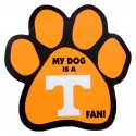 My Dog is an Tennessee Fan! Paw Magnet