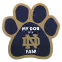 My Dog is an Notre Dame Fan! Paw Magnet