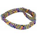 Yellow Boho Mandala Martingale Dog Collar & Leash