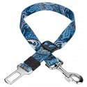 Country Brook Petz™ Blue Paisley Car Safety Dog Belt