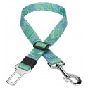 Country Brook Petz™ Green Paisley Car Safety Dog Belt