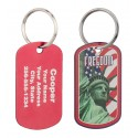 Military Dog Tag Liberty Freedom Design