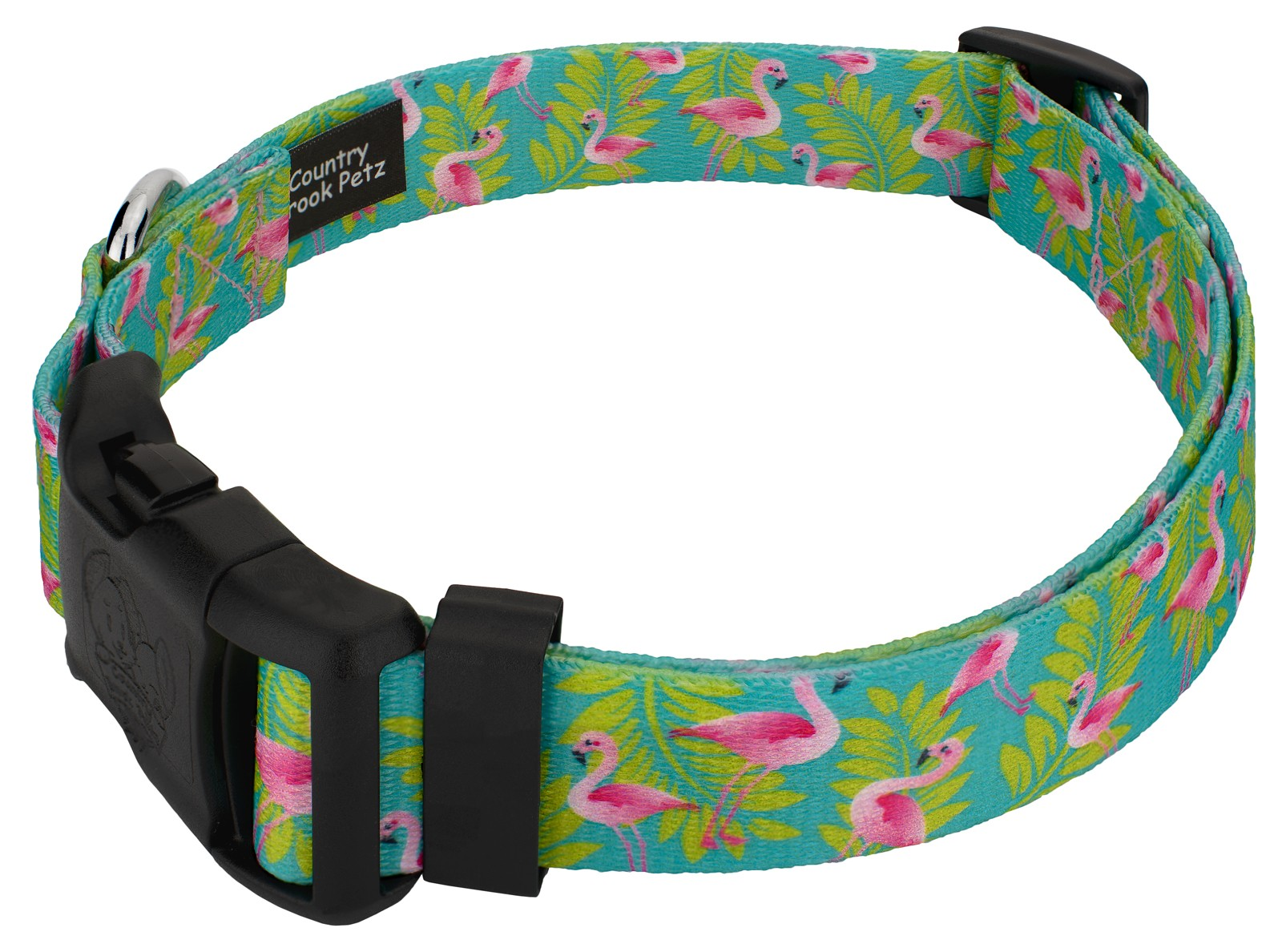 Dog Puppy Design Leash Made In USA Choose Size Flamingo Up Country