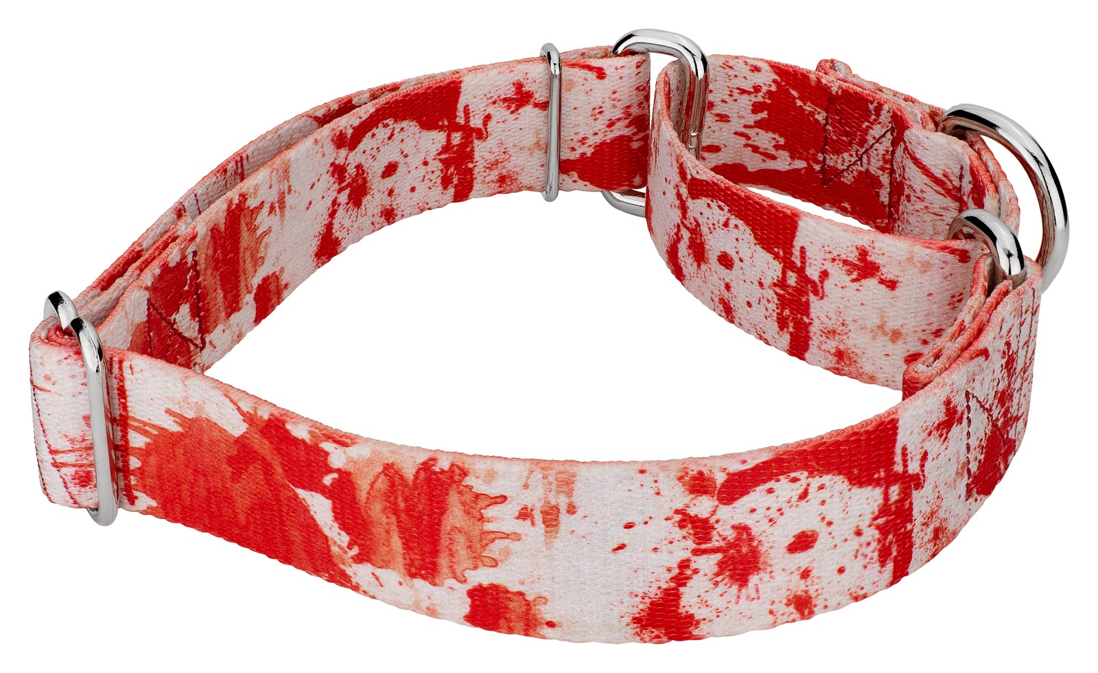 Buy Blood Spatter Martingale Dog Collar & Leash Online