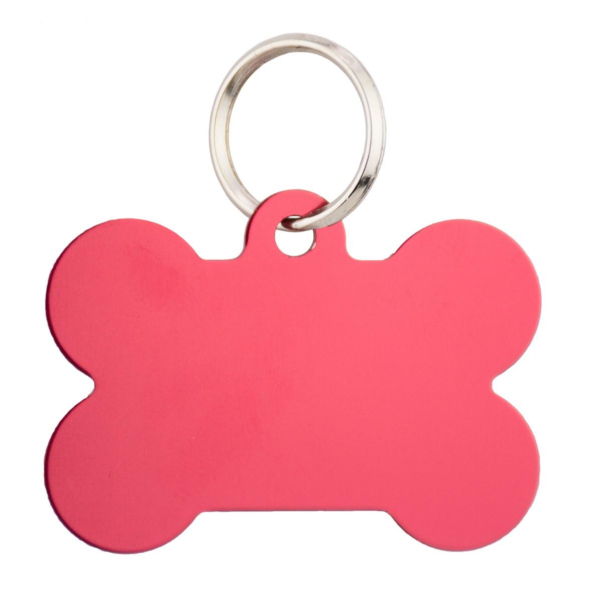 buy pet id tag bone design online