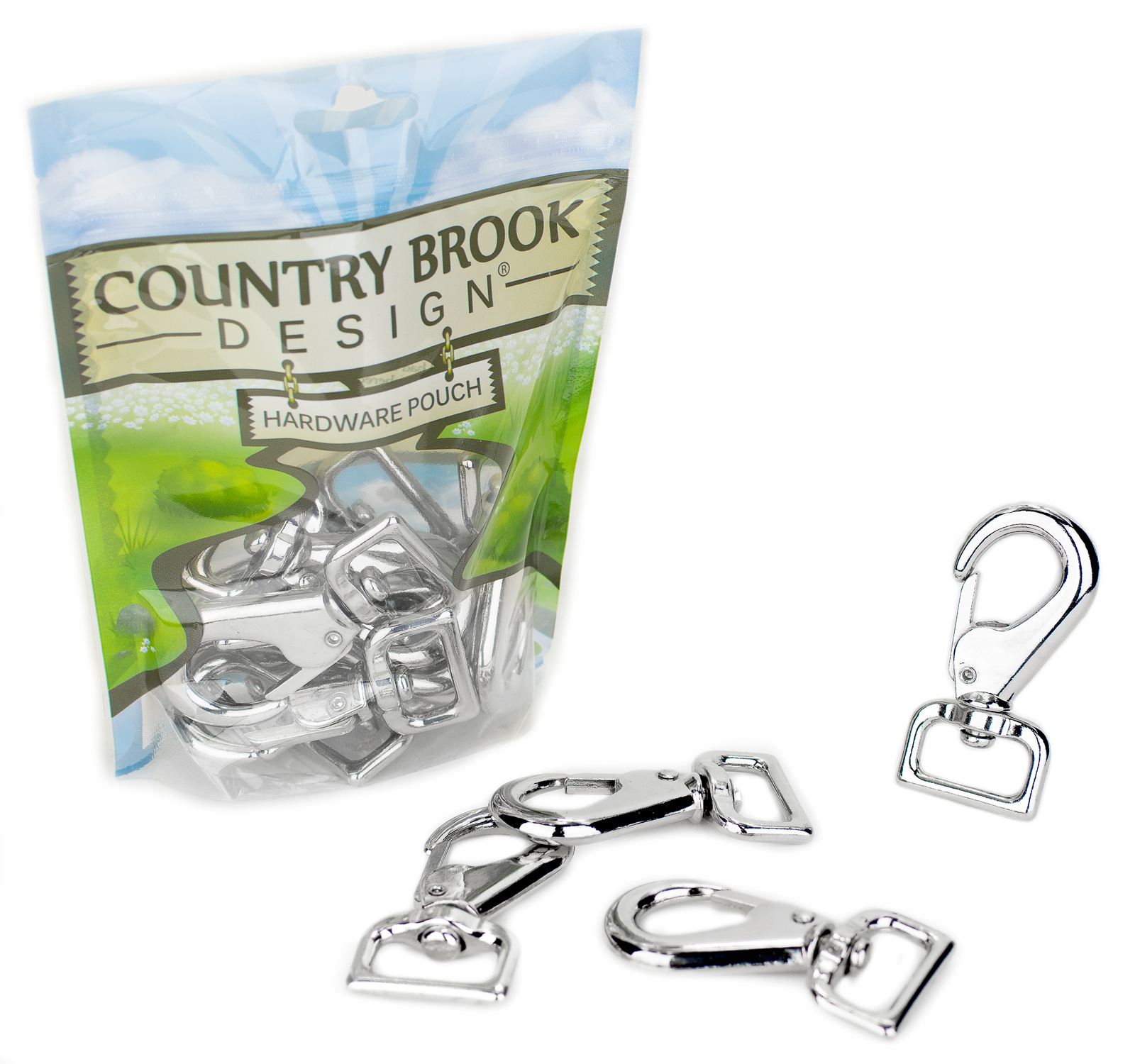 25 Country Brook Design® 1 Inch Nickel Plated S-Hooks