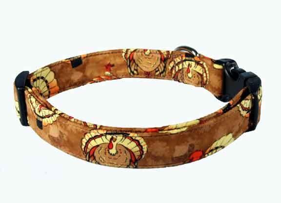 Thanksgiving dog collars